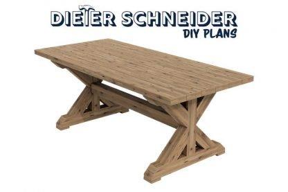 Classic Farmhouse Table plans