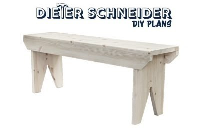 Simple Bench Plans