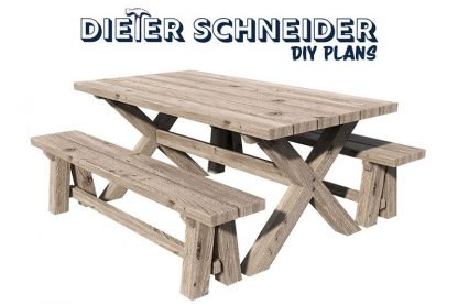Farmhouse and Bench Plans