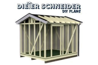 How to build sheds E-Book