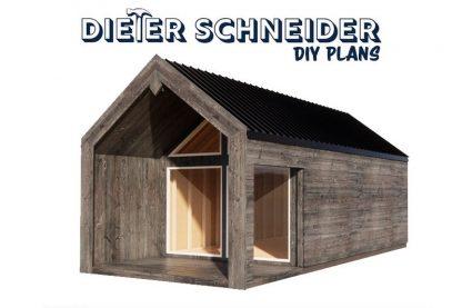Scandinavian Style Cabin - Plans